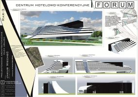 New Hotel FORUM Cracow - poster 1 by bulaw