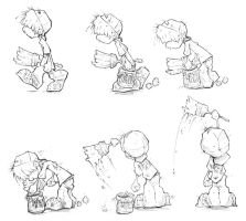animation sketches by dholms