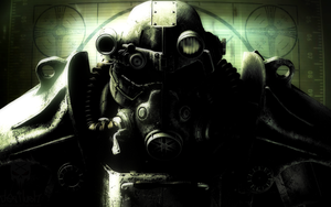 Fallout 3 BoS Wallpaper by DEVILUSHNINJA