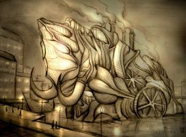 BIO-Steampunk: Watermamut by Cinvira