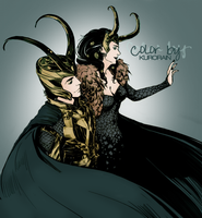 Loki Colorized by KuroRain