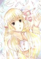 Let me be with you (Chii from Chobits fanart) by yoolin