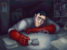 Medic, musicbox and dreams by Chertopoloh