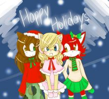 .:Happy Holidays:. by YuriThorns