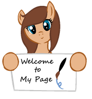 Welcome to my Page *New dA ID* by RaindropLily