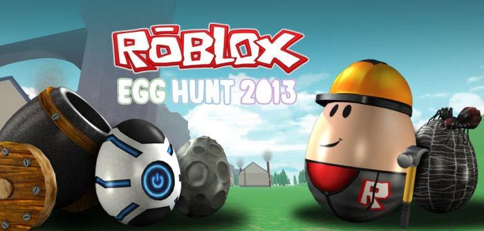 ROBLOX Egg Hunt 2013 by Angeltheherovampire