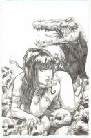 Vampirella pencil 02 by Vinz-el-Tabanas