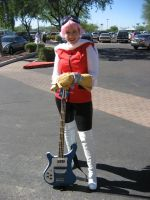 Haruko FLCL - Saboten update 2 by Emmalyn
