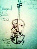 Steampunk Violin (concept) by JettRose17