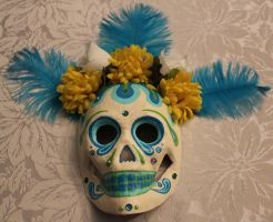 Paper Mache Mask 7 SOLD by angelacapel