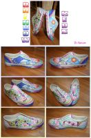 Rainbow Keds by Arasha