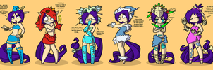 Nymphsuits be crazy by raygirl