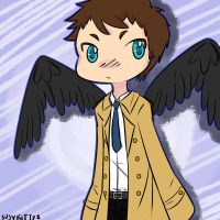 Castiel - The Chibi Angel by SusyKitty1