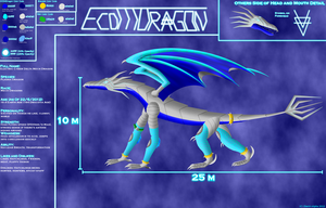 ECDMDragon's Reference Sheet by Electri-Alpha