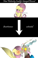 How Fluttershy really changed Discord by V-D-K