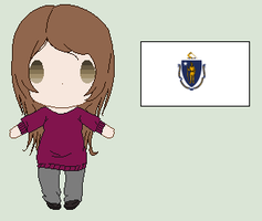 Hetalia OC- Massachusetts by Karma-Maple