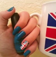 Union Jack Nails by MissDaniLips