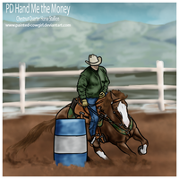 Money - SNE Barrels by painted-cowgirl