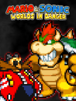 Mario and Sonic Worlds In Danger - Villains Poster by xXBrawlStudiosXx