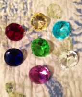 My Chaos Emeralds by Starsinger1
