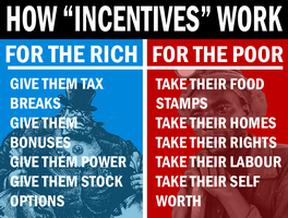 Class System Incentives by Party9999999