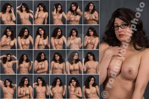 Stock: Stephanie Nude Close-Up Glasses - 24 Images by modelsource