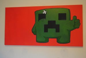 Minecraft Creeper / Super Meat Creeper by Joshfryguy