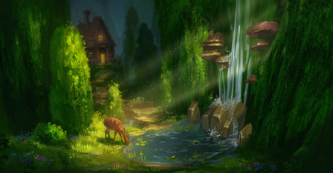 A place of great serenity by AnnikeAndrews
