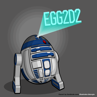 Egg2d2 by IllustratorG