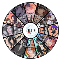 2013 Art Summary by NightmareInspections