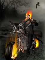 Ghost Rider by OneArmBandit