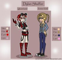 DP OC: Dylan Shaffer by pixiesera