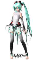 Miku Append by cromsifing