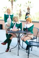 F11 - Girls at the Cafe by BlizzardTerrak
