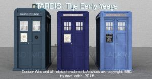TARDIS: The Early Years by VortexVisuals