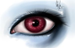 Dreamy eye by Ilqua