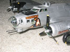 B 17 G Scorchy II 7 by SindreAHN