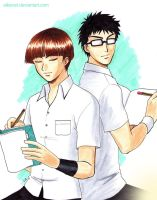 Inui and Yanagi by Alkanet