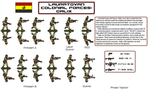 LNC Colonial Infantry by Another-Eurasian