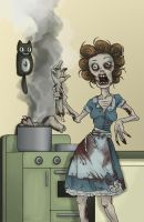 zombie house wife... by VODKABABY