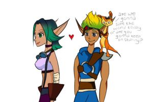 Jak, Quit Staring by ChloeMiles