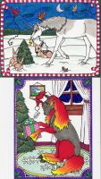 Yule Cards 2007 by Shara-Moonglow