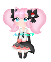 Pop Idol JigglyPuff Gijinka Auction Adopt (closed) by AdriPandi