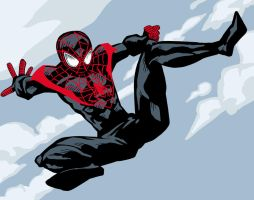 New Ultimate Spider-Man by artistjerrybennett
