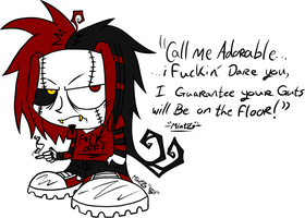 Chibi MintZ - Not A Single Fuck Was Givin' At All! by TwiztidMintZArt