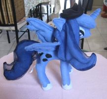 Princess Luna Plush by IrashiRyuu