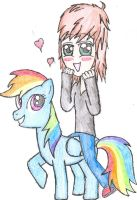 Me and Dashy by FinnishGirl97