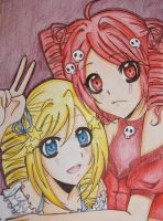 contest: Amy and Emily by kilari-chan