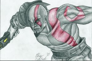 Kratos by GateBreaker