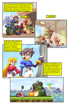 Megaman ZX Issue 1: Page 11 by RadzHedgehog